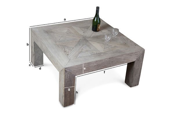 Product Dimensions Charpente coffee table