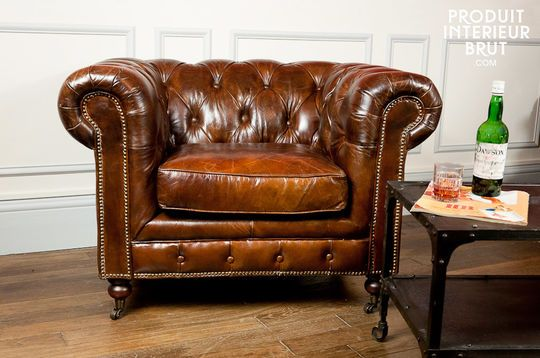 Chesterbrown armchair