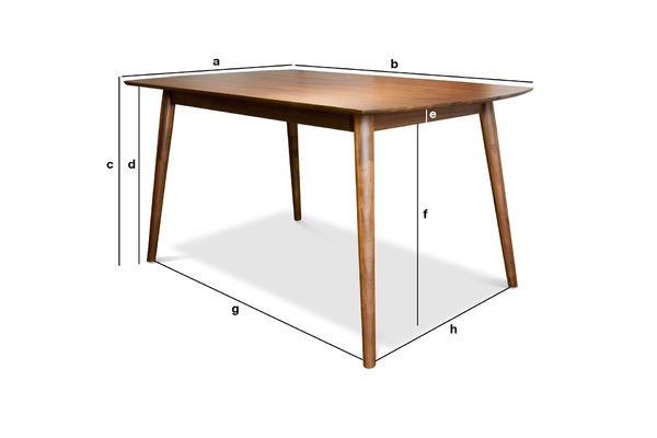Product Dimensions Chinatown Dining Table