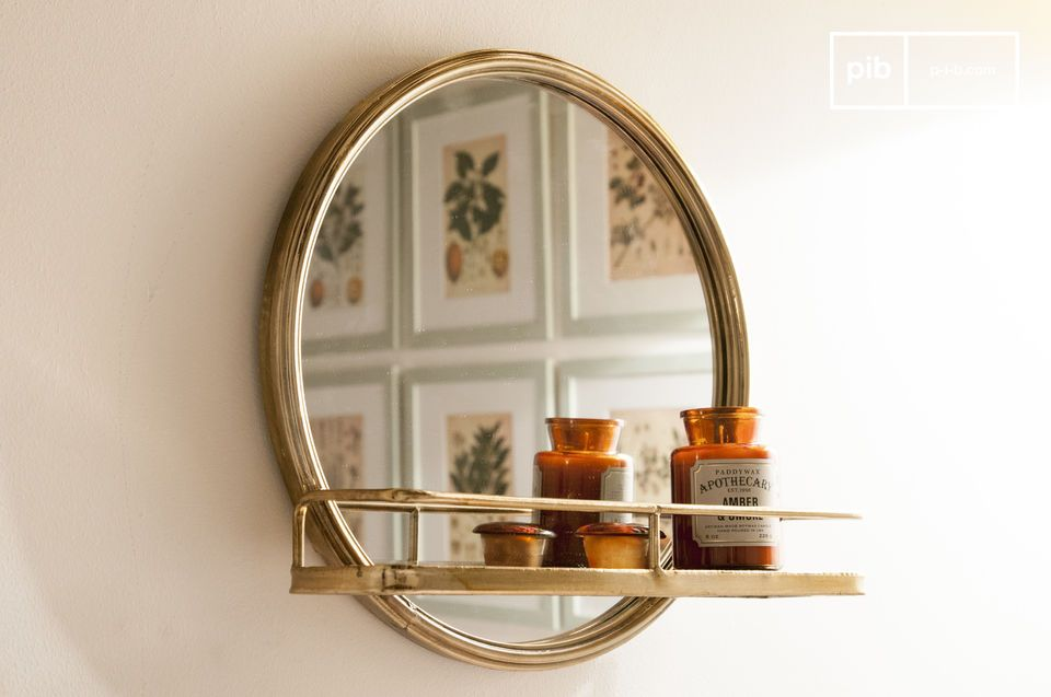 Clémentine Shelf Mirror