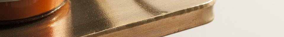 Material Details Clémentine Shelf Mirror