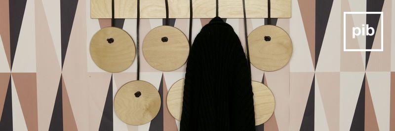 Coat rack wood