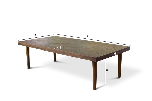 Product Dimensions Coffee table Alienor