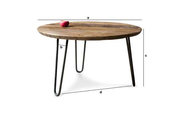 Product Dimensions Coffee table Club