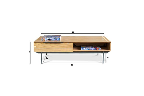 Product Dimensions Coffee table Jackson