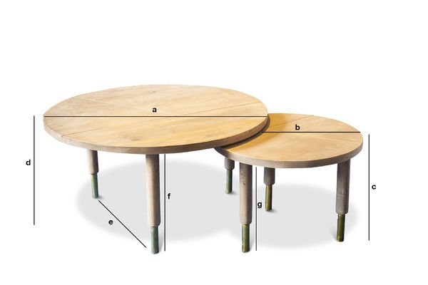Product Dimensions Coffee table Messinki