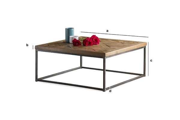 Product Dimensions Coffee table Queens