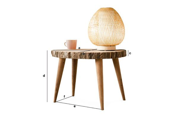 Product Dimensions Coffee table Superlip