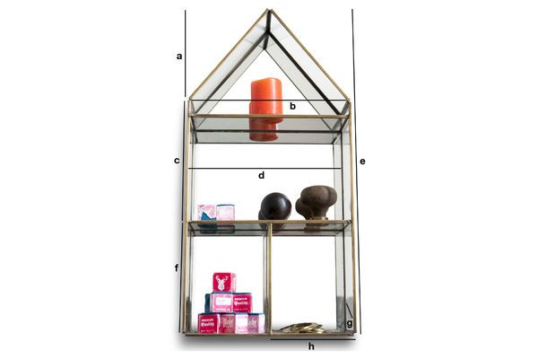 Product Dimensions Collector's Wall Shelf