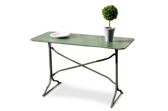 Combourg metallic table Clipped