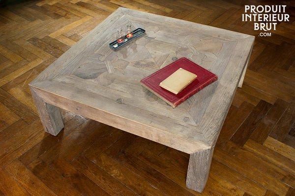 Reclaimed wood tabletop