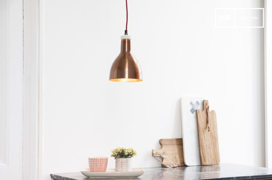 Copper Design Lamp Bidart
