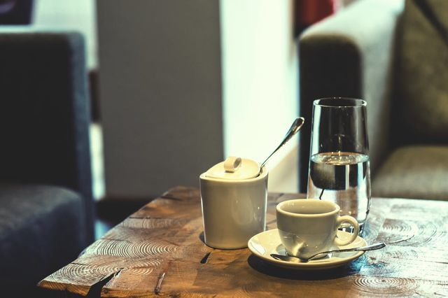 cozy coffee table