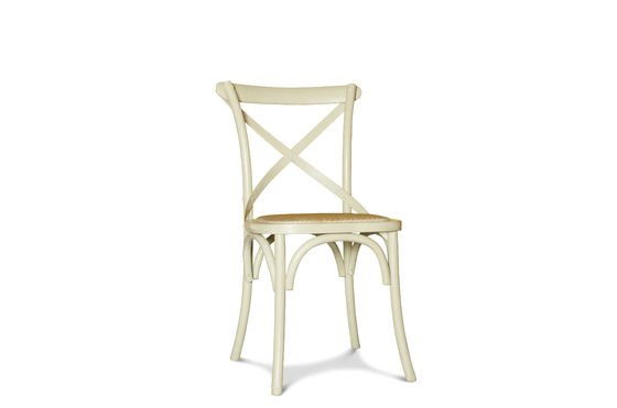 Cream Pampelune chair Clipped