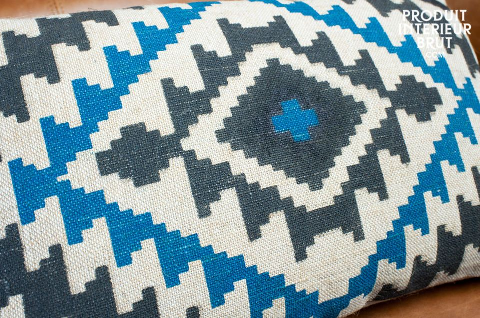The retro touch for your sofa