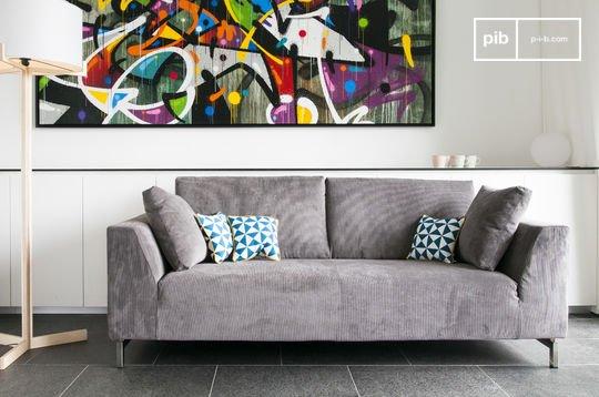 Dakota sofa with removable cover