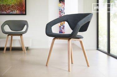 Dark Tobago armchair