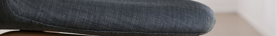Material Details Dark Tobago armchair