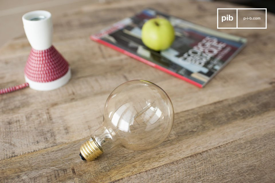 The irresistible charm of a retro lightbulb
