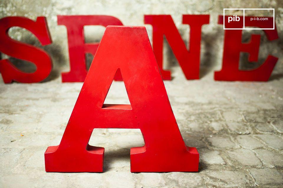 Decorative letter A