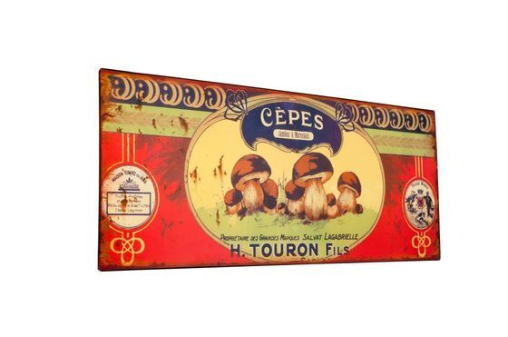 Decorative plaque Touron Clipped