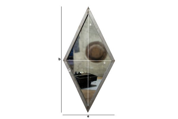 Product Dimensions Diagone mirror