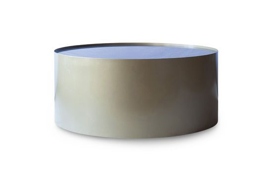 Dickinson brass and marble coffee table Clipped