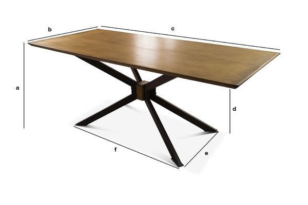 Product Dimensions Dining table Liverpool