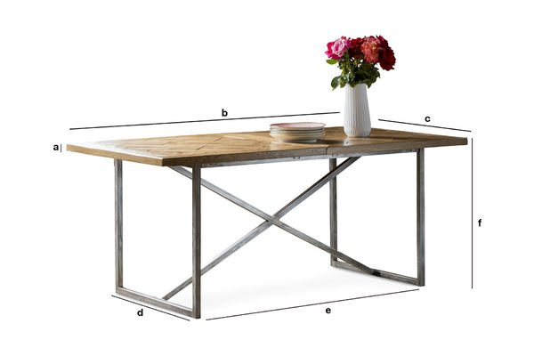 Product Dimensions Dining Table Queens