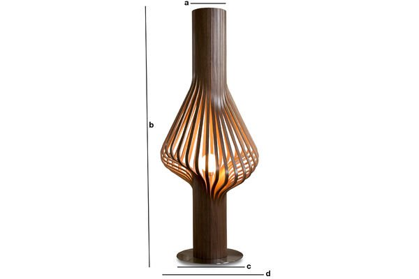 Product Dimensions Diva living room light