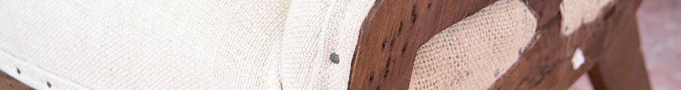 Material Details Dixon wingchair