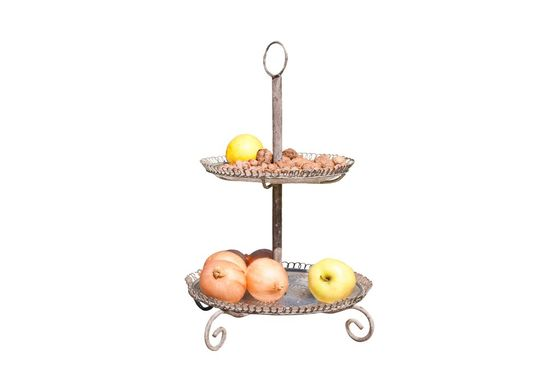 Docile serving stand Clipped