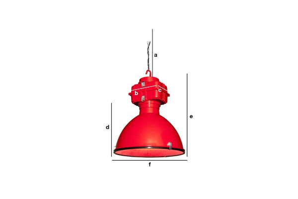 Product Dimensions Dock hanging lamp