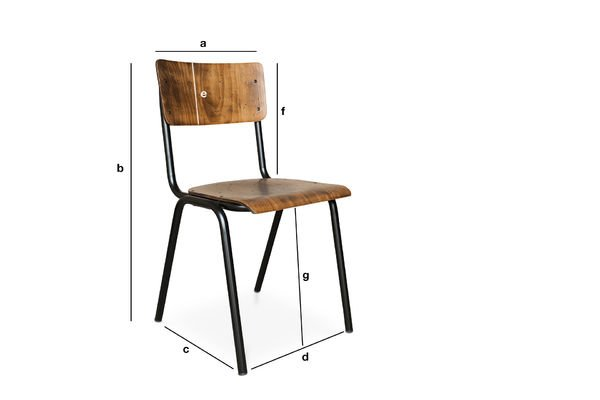 Product Dimensions Doinel Chair