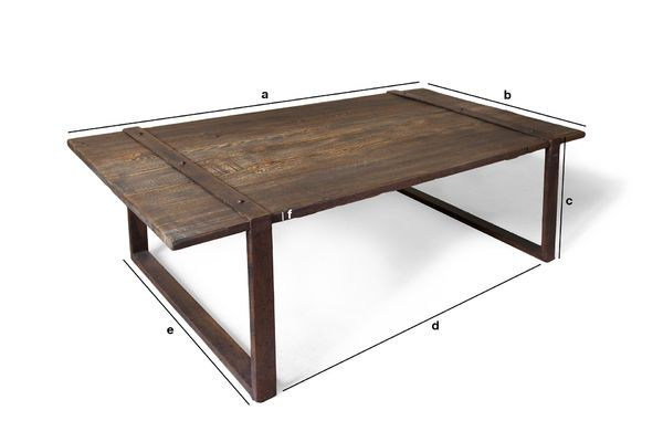 Product Dimensions Domancy coffee table