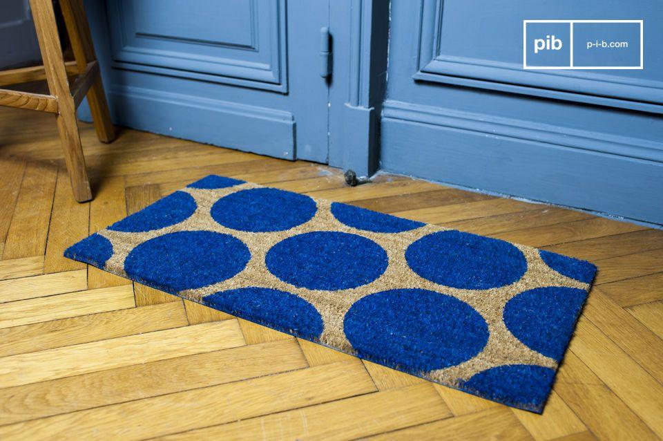Doormat Bubble blue