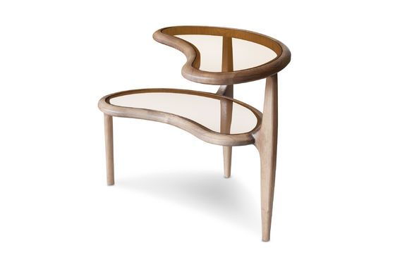 Double Bean Side Table Clipped