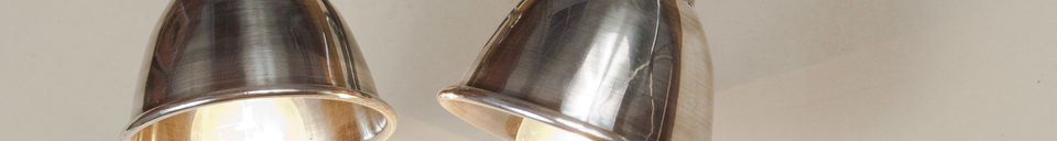 Material Details Double silver-plated wall lamp