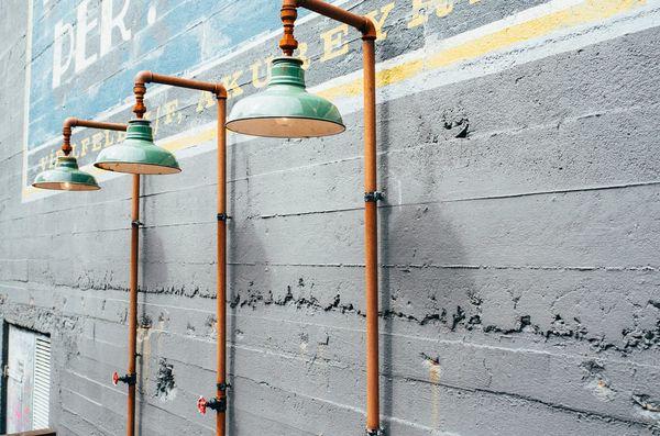 singular industrial lights concept