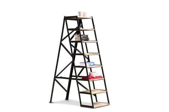 Eight-step studio stepladder Clipped