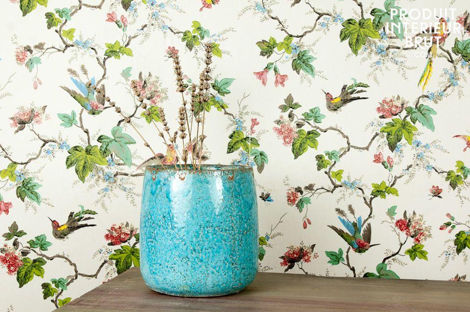 Elisa blue pot