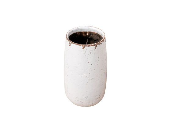 Elisa white vase Clipped