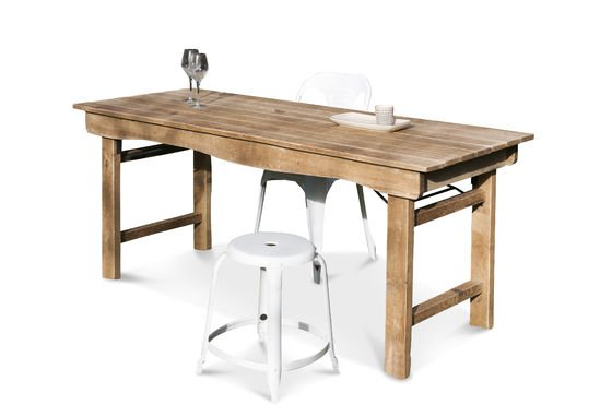 Elise Wooden Table Clipped