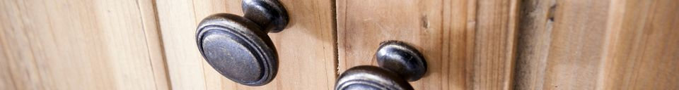 Material Details Elison corner cabinet