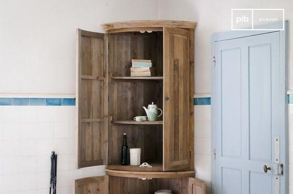 Elison corner cabinet