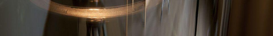 Material Details Elixir glass pendant lamp