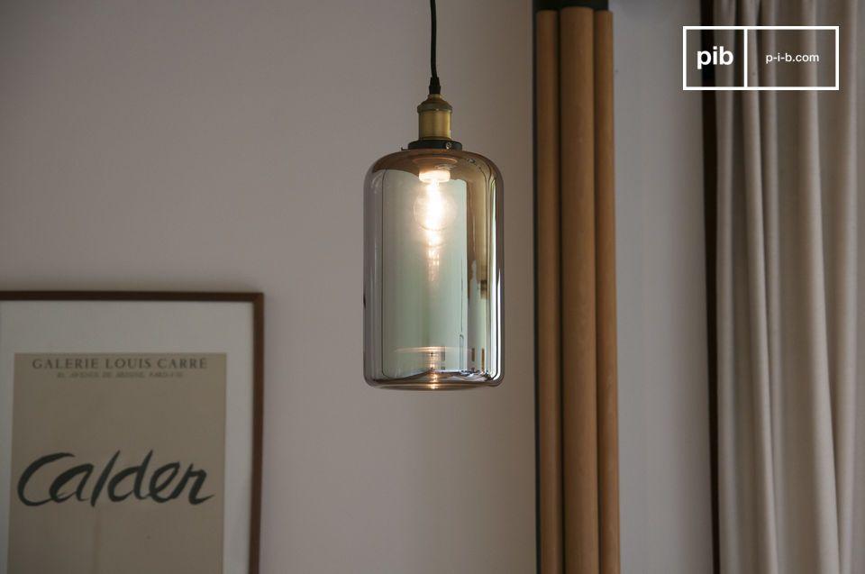 Elixir glass pendant lamp