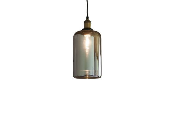 Elixir glass pendant lamp Clipped