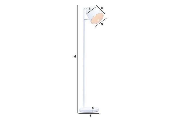 Product Dimensions Elküb floor lamp