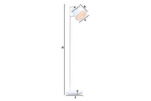 Product Dimensions Elküb standard lamp